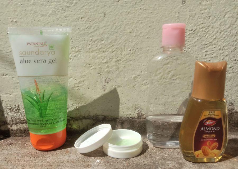 DIY Nail Growth Gel Serum Ingredients