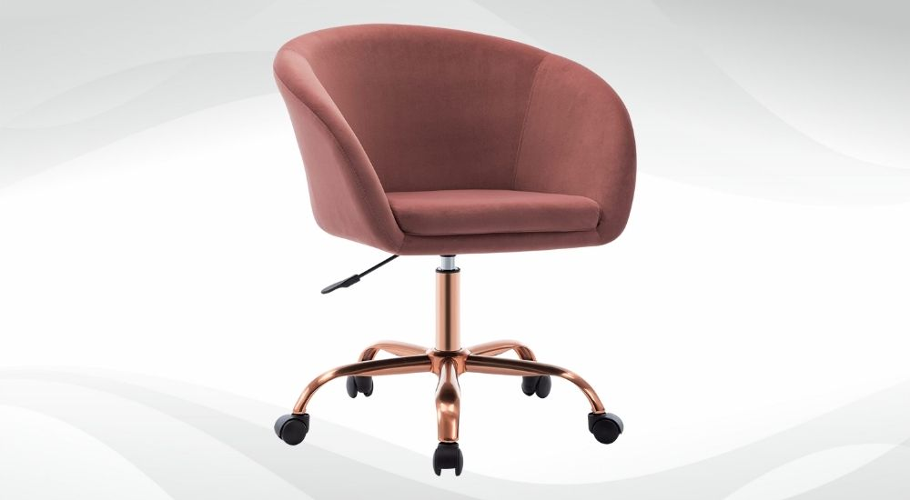 Makeup Chair with Wheels